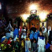 Рождественский праздник в храме
