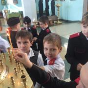 Казачата в храме