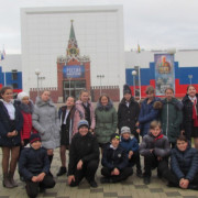 Побывали в историческом парке «Россия – моя история»