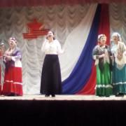 Казачата выступали на закрытии мероприятия