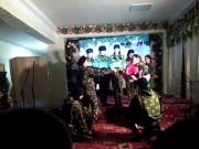 Казачья молодежь поздравила женщин