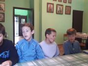 Казачатам рассказали о просфорках