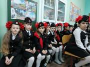 Принять юных первоклашек в ряды казачат