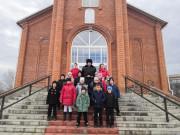 Побывали в храме и в штабе Гулькевичского РКО