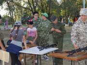 2-ой день во время летних учебно-полевых сборов «Казачья застава»