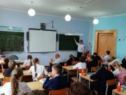 Занятия с казачатами