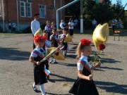 День Знаний для первоклассников казачьей школы