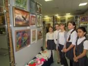 Выставка « Зимний цветок»