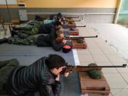 Метко стреляет казачья молодежь